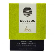 Jeju Orchid Green Tea Blended Tea 0.52oz(0.05oz X 10 Tea Bags)