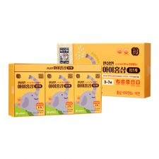 Kids Red Ginseng for 3-7 Years 0.67oz(20ml) 30 Pouches