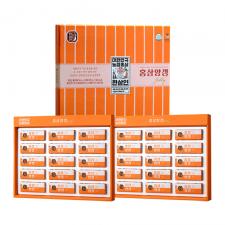 Korean Red Ginseng Bean Jelly 1.58oz(45g) 15 Pcs 1+1 Set