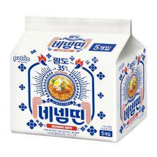 Bibim Ramen Extra Spicy  4.58oz(130g) 5 Packs