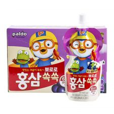 Ginseng Pororo Grape 3.38oz(100ml) 10 Pouches