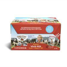 Organic Whole Milk 6.75 fl.oz(200ml) 12 Packs