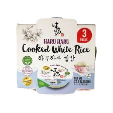 Cooked White Rice Premium 7.4oz(210g) 3 Packs