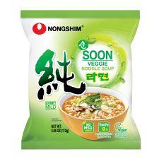 Soon Veggie Noodle 3.95oz(112g) 4 Packs