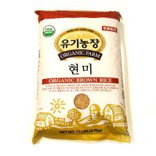 Organic Brown Rice-15LBS