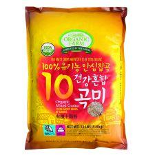 100% Organic 10 Mixed Grain 12lb(5.4kg)
