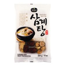 Ginseng Chicken Soup (Samgyetang) Preparation 10oz(284g)