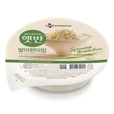 Cooked Sprouted Brown Rice 7.4oz (210g) 3 Pack