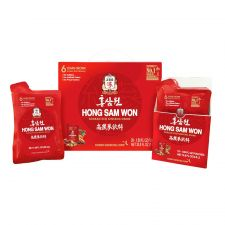 Hong Sam Won Korean Red Ginseng Drink 1.69oz(50ml) 20 Pouches