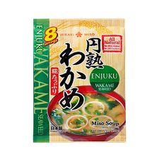 All Natural Enjuku Miso Soup - Wakame Seaweed