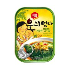 Sesame Leaves in Soy Sauce 2.4oz(70g)
