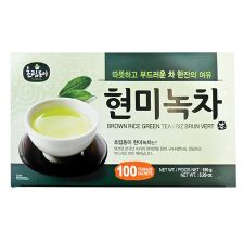 Green Tea with Brown Rice 0.05oz(1.5g) 100 Tea Bags