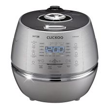 Full Stainless Eco IH Pressure Rice Cooker/Warmer CRP-DHSR0609F (6 cups)