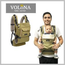 Volona S Baby Carrier Olive + Free Teething Pad