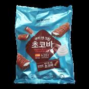 No Brand Cookies & Cream Chocolate Bar 8.46oz(240g), 노브랜드 쿠키앤 크림 초코바 8.46oz(240g)
