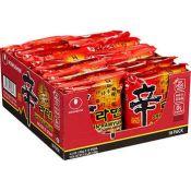 Nongshim Shin Ramyun 4.23oz(120g) 16 Packs, 농심 신라면 4.23oz(120g) 16팩, 農心 辛拉麵 4.23oz(120g) 16 Packs