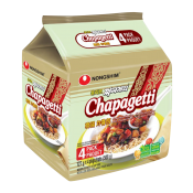 Nongshim Chapagetti Chajang Noodle 4.5oz(127g) 4 Packs, 농심 짜파게티 4.5oz(127g) 4팩
