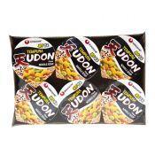 Nongshim Tempura Udon Cup Noodle Cup  2.6oz(75g) 6 Cups, 농심 튀김우동 컵  2.6oz(75g) 6컵, 農心 Tempura Udon Cup Noodle Cup 2.6oz(75g) 6 Cups