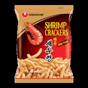 Nongshim Shrimp Cracker Spicy Flavor 2.6oz(75g), 농심 매운새우깡 2.64oz(75g)