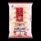 Want Want Shelly Senbei Rice Crackers 5.29oz(150g), Want Want 센베이 쌀과자 5.29oz(150g), 旺旺 Shelly Senbei Rice Crackers 5.29oz(150g)