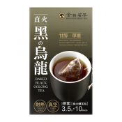 King Ping Best Tea Baked Black Oolong Tea 0.12oz(3.5g) 10 Bags, 금품명차 블랙 우롱차 티백 0.12oz(3.5g) 10 Bags, 金品茗茶 直火黑烏龍 0.12oz(3.5g) 10 Bags