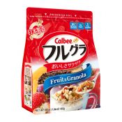 Calbee Frugra (Fruit & Granola) 17oz(482g), 가루비 후루그라 (과일 & 그래놀라) 17oz(482g)