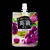 Tarami Konjac Jelly Grape 5.29oz(150g), 타라미 곤약젤리 포도맛 5.29oz(150g)