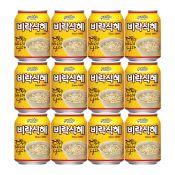 Paldo Virac Fermented Rice Punch 8.04oz(238ml) 12 Cans, 팔도 비락식혜 8.04oz(238ml) 12캔