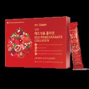 LG Household & Health Care Red Pomegranate Collagen 0.27 fl.oz(8ml) x 28 Packets, LG 생활건강 진한 레드석류 콜라겐 스틱형 0.27 fl.oz(8ml) x 28포