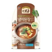 Beksul Dadam Soybean Paste Stew Stock 4.93oz(140g), 백설 다담 냉이 된장찌개 양념 4.93oz(140g)
