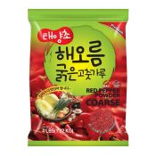HAIO Red Pepper Powder Coarse 4lb(1.82kg), HAIO 태양초 굵은 고춧가루 4lb(1.82kg)
