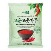 Greenation Red Pepper Powder (Fine) 5lb(2.26kg), 자연애 고운 고춧가루 5lb(2.26kg)