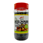 Haioreum Roasted Black Sesame Seed 8oz(227g), 해오름 볶은 검정깨 8oz(227g)