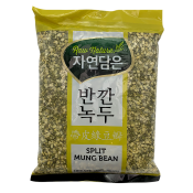 Raw Nature Split Mung Bean 2lb(907g), 자연담은 반깐 녹두 2lb(907g)