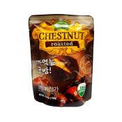 Organic Farm Roasted Organic Chestnut with Shell 5.3oz(150g), 유기농장 오가닉 까먹는 군밤 5.3oz(150g), 有機農場 有機帶殼烤板栗 5.3oz(150g)