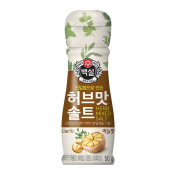 Beksul Seasoning Herb Salt Garlic flavor 1.77oz(50g), 백설 허브맛 솔트 마늘맛 1.77oz(50g)