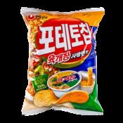 Nongshim Potato Chip Yookgaejang Flavor 4.4oz(125g), 농심 포테토칩 육개장 사발면맛 4.4oz(125g)