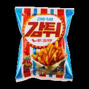 Nongshim Potato Snack Red Chili 2.11oz(60g), 농심 겉바속바 감튀 레드칠리맛 2.11oz(60g)