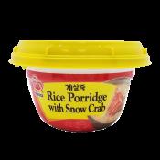 Ottogi Rice Porridge with Snow Crab 10.05oz(285g), 오뚜기 게살죽 10.05oz(285g)