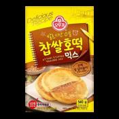 Ottogi Stuffed Pancake Mix 19.04oz(540g), 오뚜기 찹쌀 호떡 믹스 19.04oz(540g)
