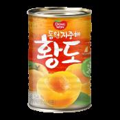 Dongwon Canned Yellow Peach 14.46oz(410g), 동원 지중해 황도 14.46oz(410g)