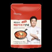 Theborn Paik Cook Spicy Topokki Sauce 5.46oz(155g), 더본 백종원의 초간단 매콤떡볶이 양념 5.46oz(155g)