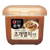 Chung Jung One Soybean Paste Shellfish Anchovy Flavor 1.98lb(900g), 청정원 구수하고 시원한 조개멸치 된장 찌개양념 1.98lb(900g)