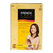 Namyang French Cafe Coffee Mix 0.38oz(10.9g) 100 Sticks, 남양 프렌치 카페 커피믹스 0.38oz(10.9g) 100개입