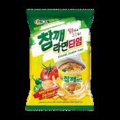 Binggrae Sesame Ramen Snack 2.46oz(70g), 빙그레 참깨 라면타임 스낵 2.46oz(70g)