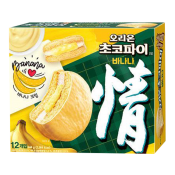 Orion Choco Pie Banana 15.65oz(444g), 오리온 초코파이 바나나 15.65oz(444g)