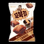 Orion Turtle Chips Choco Churros Big Size 5.6oz(160g), 오리온 꼬북칩 초코츄러스맛 빅사이즈 5.6oz(160g)