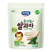 Organic Baby Rice Snack Spinach 1.05oz(30g)