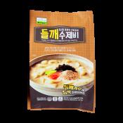 Chilkab Perilla Seeds Korean Style Pasta 15.34oz(435g), 칠갑농산 들깨 수제비15.34oz(435g), Chilkab Perilla Seeds Korean Style Pasta 15.34oz(435g)