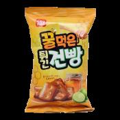Cosmos Honey Hardtack Snack 3.88oz(110g), 코스모스 꿀먹은 튀긴 건빵 3.88oz(110g)